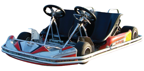 Family Twin Seater Kart Category